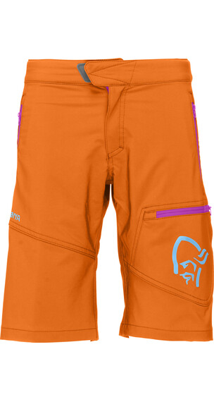 Norrøna Junior /29 Flex1 Shorts Pure Orange